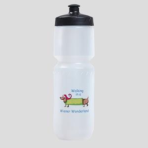 WIENER WONDERLAND Sports Bottle