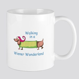 WIENER WONDERLAND Mugs