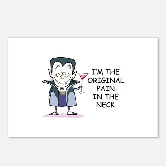 PAIN IN THE NECK Postcards (Package of 8)