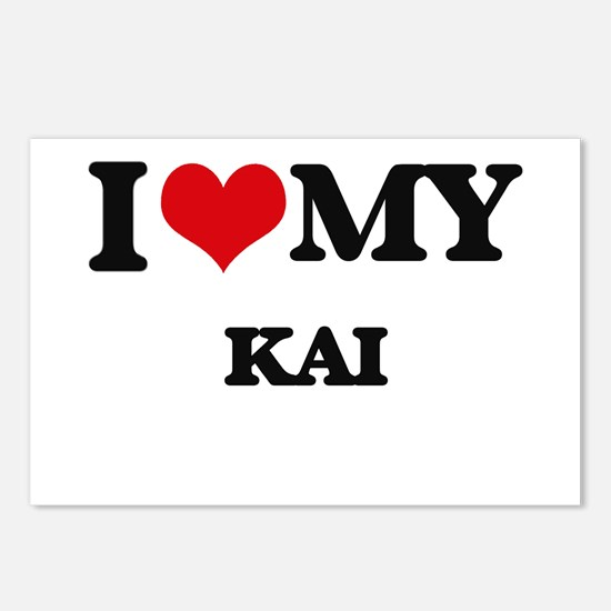 I love my Kai Postcards (Package of 8)