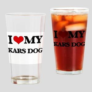 I love my Kars Dog Drinking Glass
