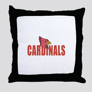 CARDINALS MASCOT Throw Pillow