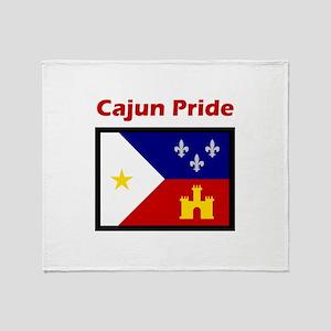 ACADIANA CAJUN PRIDE Throw Blanket