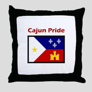 ACADIANA CAJUN PRIDE Throw Pillow