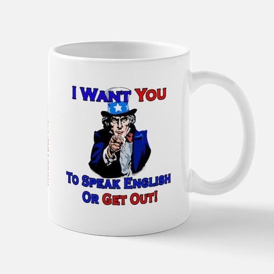Speak English - Mug
