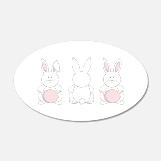 Easter Bunnies Wall Decal