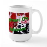 Nightmare City Halloween Large Mug