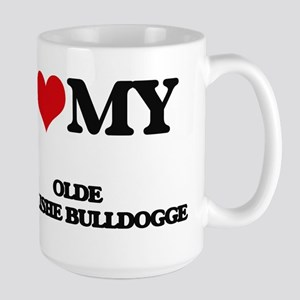 I love my Olde Englishe Bulldogge Mugs