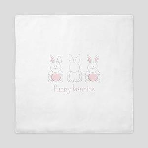 Funny Bunnies Queen Duvet
