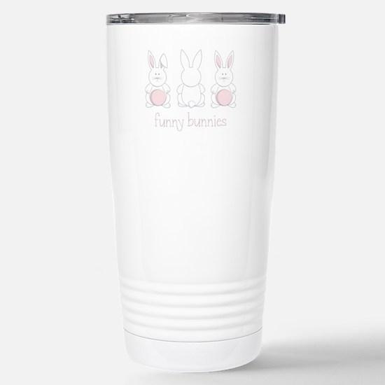 Funny Bunnies Travel Mug