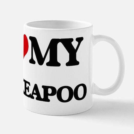 Cute Pekeapoos Mug