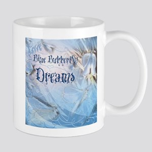 Love Blue Butterfly Dream 2 Mugs