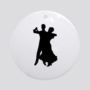 BALLROOM DANCERS Ornament (Round)
