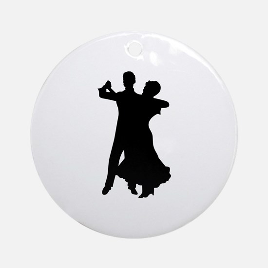 BALLROOM DANCERS Ornament (Round)