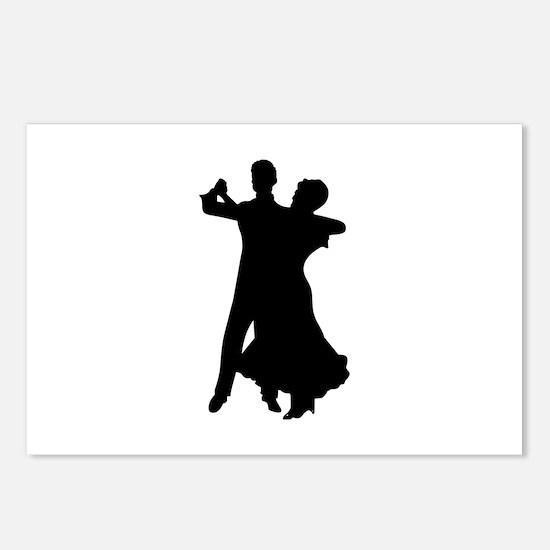 BALLROOM DANCERS Postcards (Package of 8)