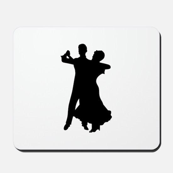 BALLROOM DANCERS Mousepad