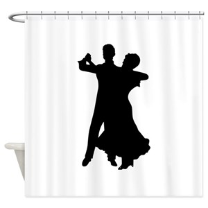 People Dancing On Shower Curtains