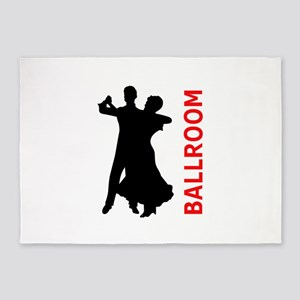 BALLROOM DANCING 5'x7'Area Rug