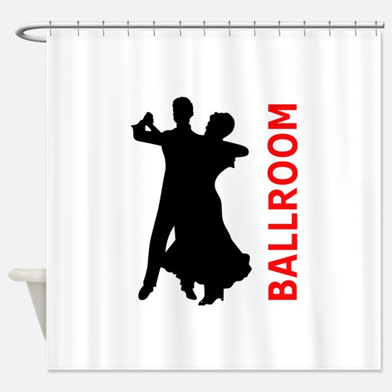 BALLROOM DANCING Shower Curtain
