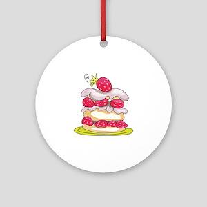 Strawberry Shortcake Ornament (Round)