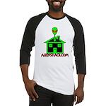 AlienShack Logo Baseball Jersey