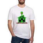 AlienShack Logo Fitted T-Shirt