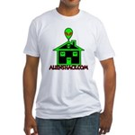AlienShack Logo Fitted T-Shirt