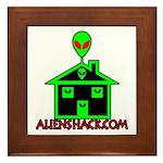 AlienShack Logo Framed Tile