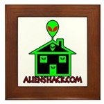 AlienShack Logo Framed Tile