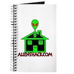 AlienShack Logo Journal