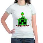 AlienShack Logo Jr. Ringer T-Shirt