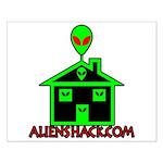 AlienShack Logo Small Poster