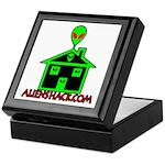 AlienShack Logo Keepsake Box