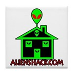 AlienShack Logo Tile Coaster