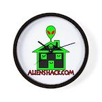 AlienShack Logo Wall Clock