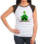 AlienShack Logo Women's Cap Sleeve T-Shirt