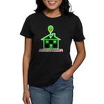 AlienShack Logo Women's Dark T-Shirt