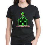 AlienShack Logo Women's Dark T-Shirt