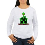 AlienShack Logo Women's Long Sleeve T-Shirt
