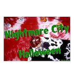 Nightmare City Halloween Postcards (Package of 8)