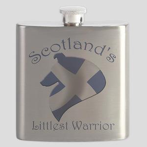 Scotland's Littlest Warrior Flask