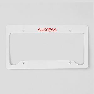 success License Plate Holder