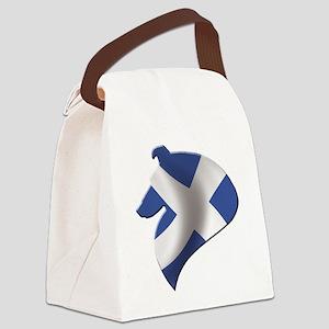 Scotland's Littlest Warrior Canvas Lunch Bag