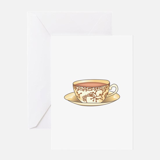 CUP OF TEA Greeting Cards