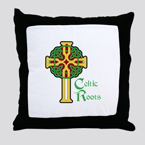 CELTIC ROOTS Throw Pillow