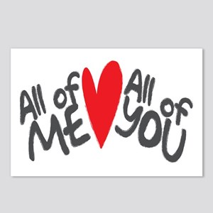 All of me loves all of you Postcards (Package of 8