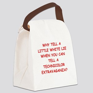 lying Canvas Lunch Bag