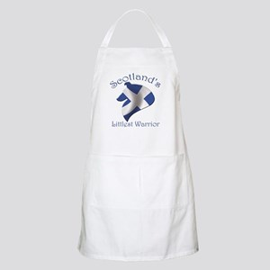Scotland's Littlest Warrior Apron