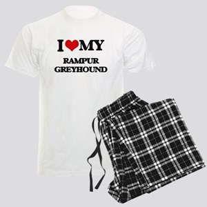 I love my Rampur Greyhound Men's Light Pajamas