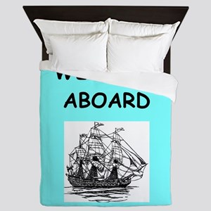 welcome aboard Queen Duvet